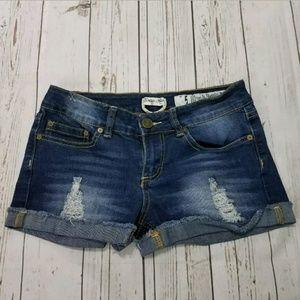 Indigo Rein Forever Mini Booty Short Shorts Size 5